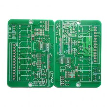 OEM through hole and SMT printed circuit board in panel