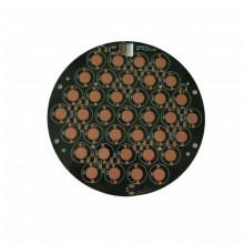 Black solder mask OSP aluminium LED PCB