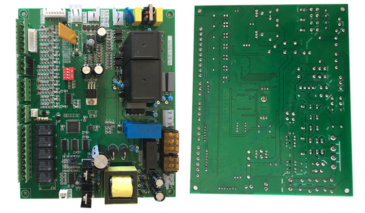 pcb board assembly for volulme gate