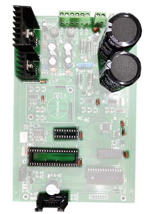 components on pcb board